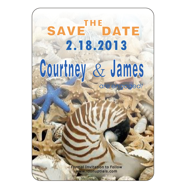 The good people of TampaFL love Destination Save the Date Wedding magnets